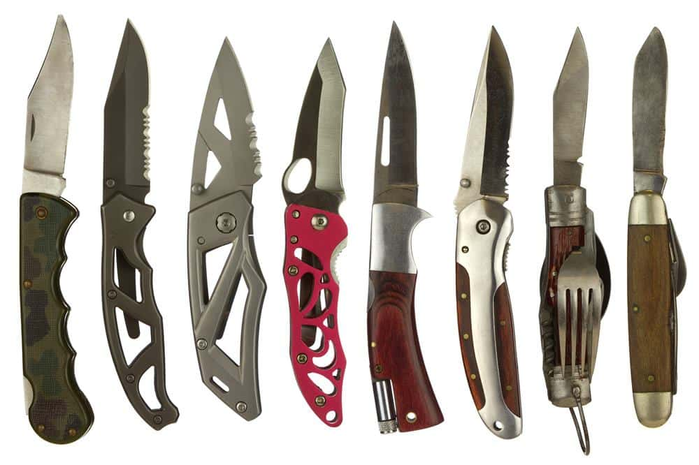 Different Blades on a Pocket Knife - bladeprotection
